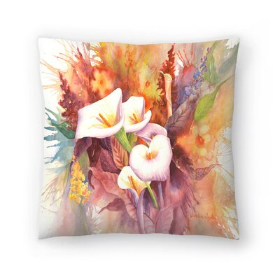Sunshine Taylor Calla Dance Indoor/Outdoor Throw Pillow Size: 14 x 14