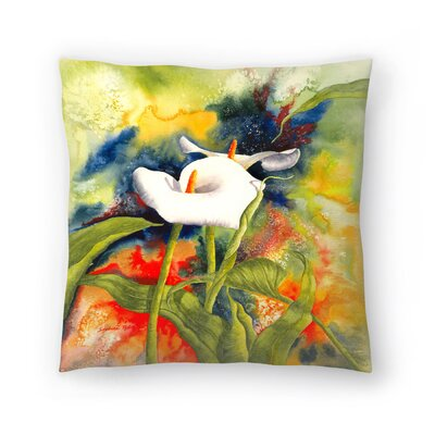 Sunshine Taylor Calla Dream Indoor/Outdoor Throw Pillow Size: 16 x 16