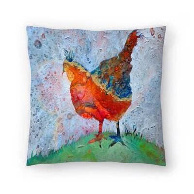 Sunshine Taylor Hen Indoor/Outdoor Throw Pillow Size: 16 x 16