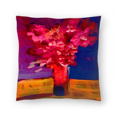 Sunshine Taylor Flower Bunch Indoor/Outdoor Throw Pillow Size: 14 x 14