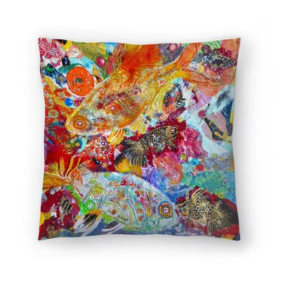 Sunshine Taylor X Ray Tetra Indoor/Outdoor Throw Pillow Size: 18 x 18