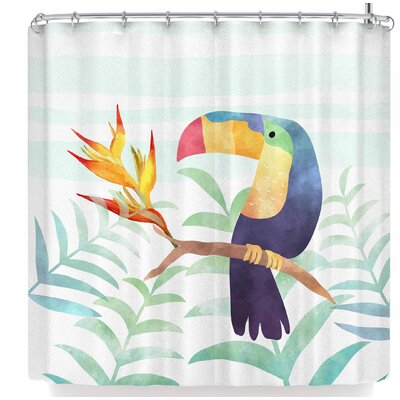 Li Zamperini Magic Summer Shower Curtain