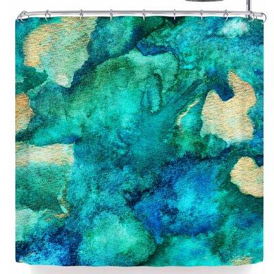 Li Zamperini Aquamix Shower Curtain