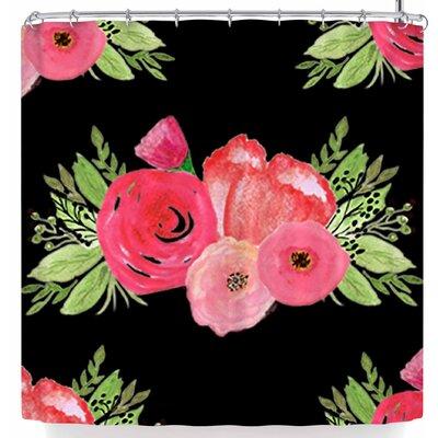 Li Zamperini Bouquets Shower Curtain