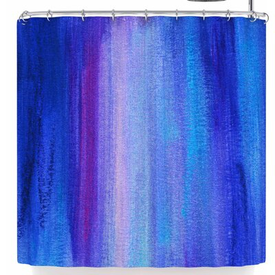 Li Zamperini Abstract Shower Curtain