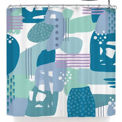 Li Zamperini Abs Shower Curtain