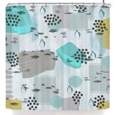 Li Zamperini Calmaria Shower Curtain