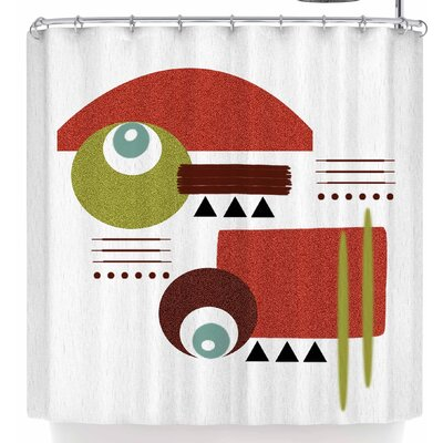 Li Zamperini Seguimento Shower Curtain