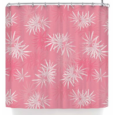 Julia Grifol Paradise Flowers Shower Curtain