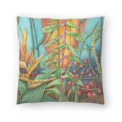 Jungle1 Throw Pillow Size: 16 x 16