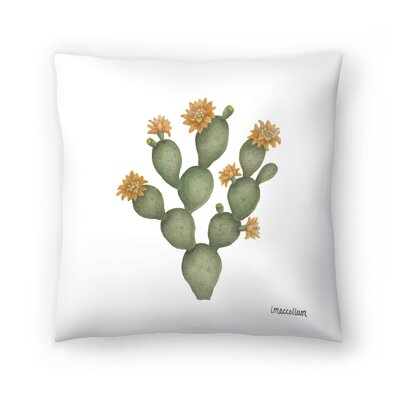 Prickly Pear2 Throw Pillow Size: 14 x 14