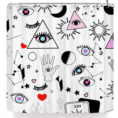 Mukta Lata Barua Eye Magic Shower Curtain