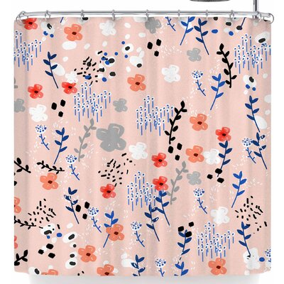 Mukta Lata Barua My Little Flower Garden Shower Curtain