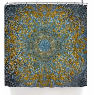 Justyna Jaszke Mandala Winter Shower Curtain