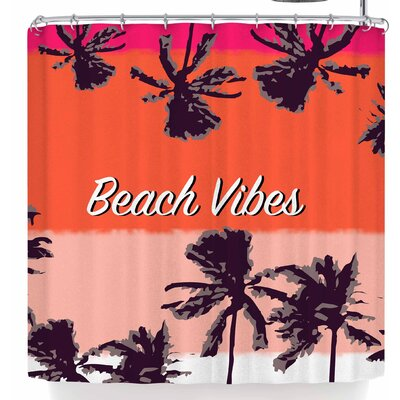 Mukta Lata Barua Beach Vibes Shower Curtain