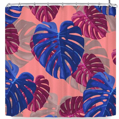 Mukta Lata Barua Leaf Drama Shower Curtain