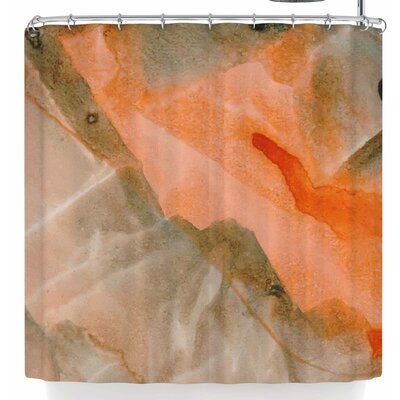 Mmartabc Watercolor Stains Shower Curtain