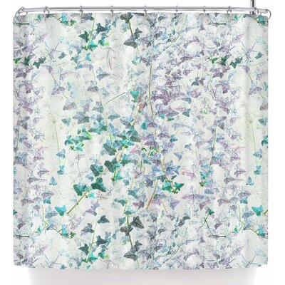 Michelle Drew Thistle Damask Shower Curtain