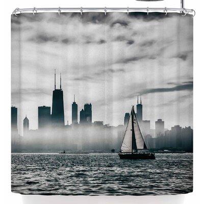 Mary Carol Fitzgerald Free Spirit Chicago Shower Curtain