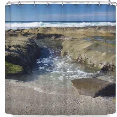 Nick Nareshni Coastal Reef Shower Curtain