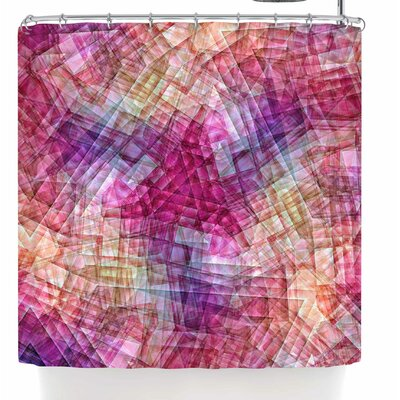 Justyna Jaszke Mandala Colors of Life Shower Curtain