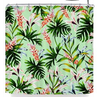 Mmartabc Tropical Jungle Shower Curtain