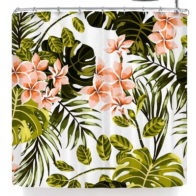 Mmartabc Tropical Shower Curtain