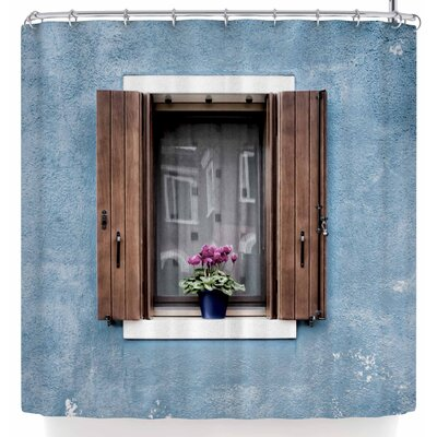 Mary Carol Fitzgerald Open Window Shower Curtain