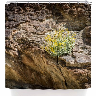 Nick Nareshni Desert Flowers Shower Curtain