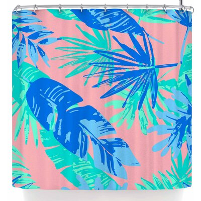 Mukta Lata Barua Tropical Vibes Shower Curtain