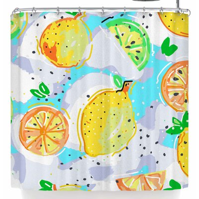 Mukta Lata Barua Lemon Love Shower Curtain