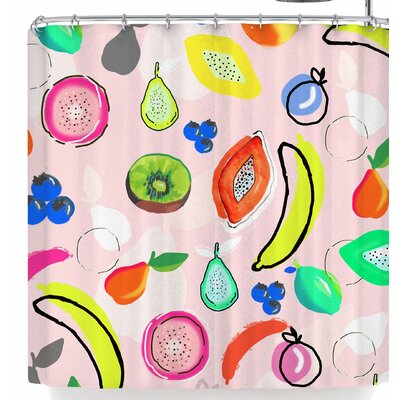Mukta Lata Barua Fruit Crush Shower Curtain