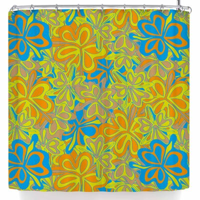 Miranda Mol Retro Tulip Sand Shower Curtain