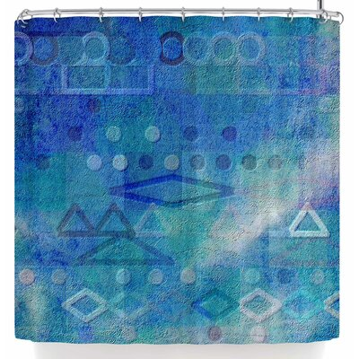 Mimulux Patricia No Hieroglyphic Shower Curtain