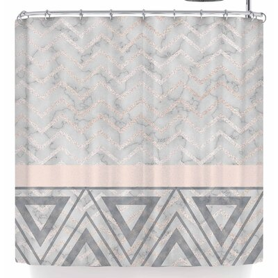 Li Zamperini H Decor Shower Curtain