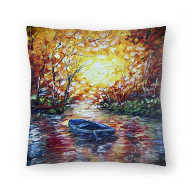 Olena Art Impression Sunset Throw Pillow Size: 16 x 16