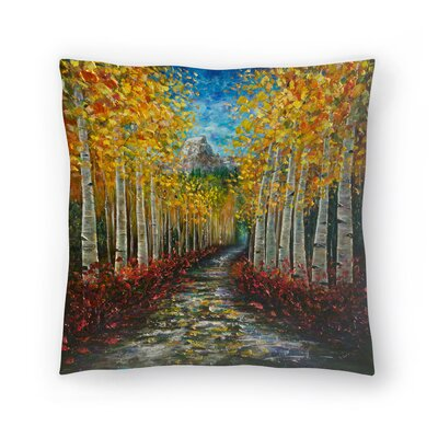 Olena Art Nelly Creek Throw Pillow Size: 14x14