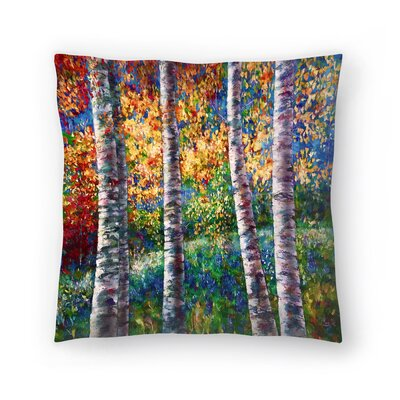 Olena Art A Midsummer Nights Dream Throw Pillow Size: 20 x 20