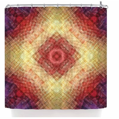 Justyna Jaszke Mandala Mosaic Shower Curtain