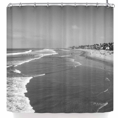 Nick Nareshni Oceanside Beach Shower Curtain