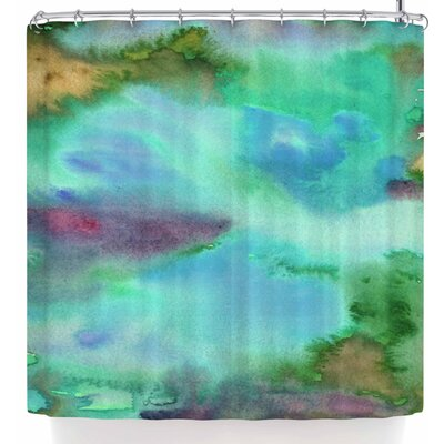 Li Zamperini Island Shower Curtain