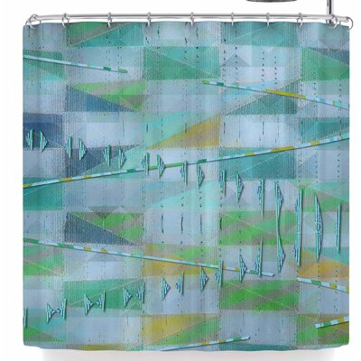 Mimulux Patricia No A Light Summer Rain Shower Curtain