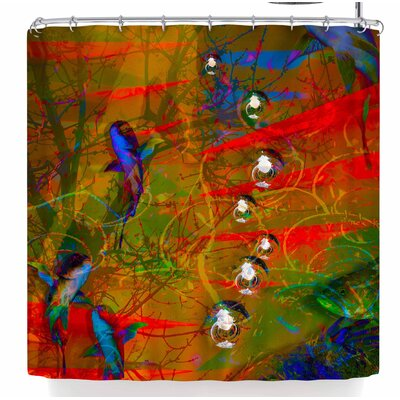 Malia Shields Under The Sea Series 1/2 Shower Curtain