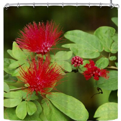 Nickn Spikey Flower Shower Curtain