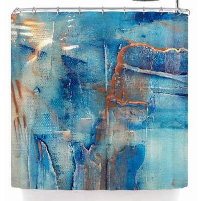Malia Shields The Blues 2 Shower Curtain