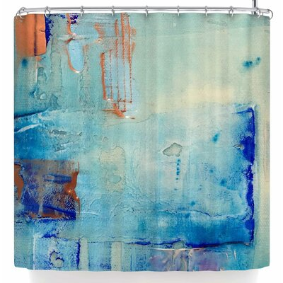 Malia Shields The Blues 3 Shower Curtain
