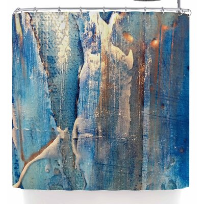 Malia Shields The Blues 5 Shower Curtain