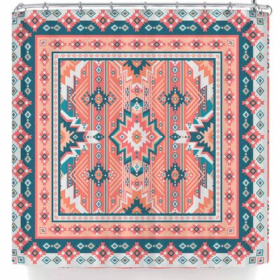 Nandita Singh Dreamy Aztec Shower Curtain