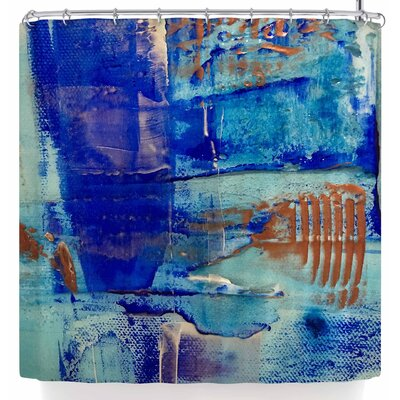 Malia Shields The Blues 4 Shower Curtain
