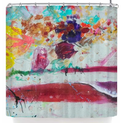 Nathan Gibbs Burn The Masts Shower Curtain
